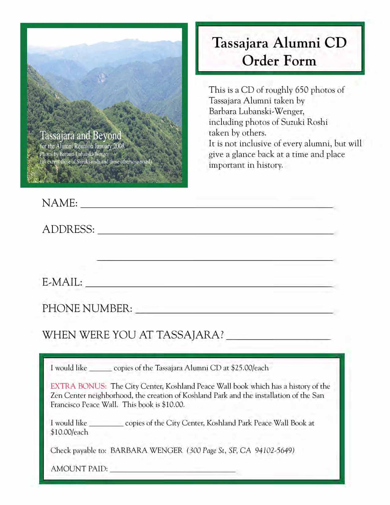 Cuke Sangha News - Cuke.com on ministry newsletters, ministry business cards, home clothing business forms, ministry flyers, ministry posters,